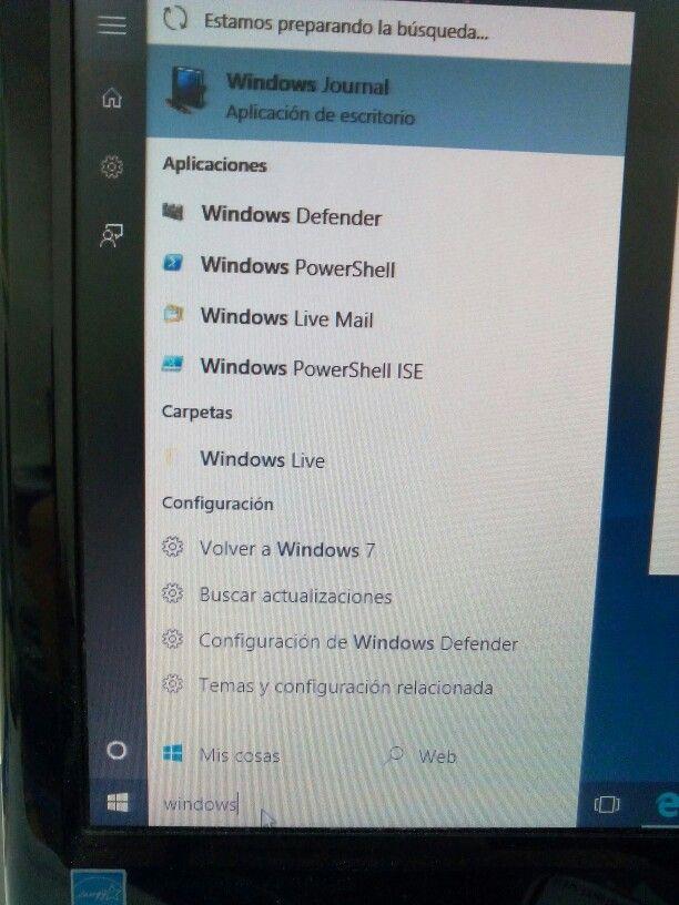 Actualiza a Windows 10 y regresa a 7