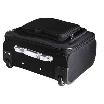 NHL Mojo Colorado Avalanche Wheeled Laptop Overnight Bag, Minnesota Wild