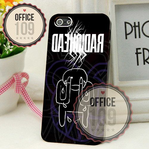 Radiohead Tears Logo iPhone 4/4s/5/5s/5c Case by Office109, $15.50