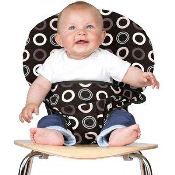 Seggiolone da sedia, tascabile, sicuro, resistente e dalle fantasie molto originali. Vincitore di molti premi per la sicurezza e il design. Perfetto e comodo da ripiegare, ideale per i viaggi.