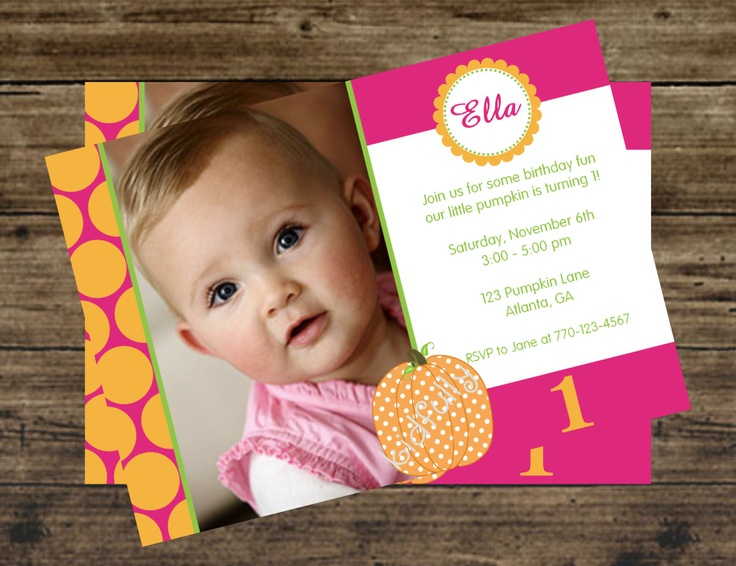 126 best Kinslees 1st Birthday Ideas images – Polka Dot First Birthday Invitations