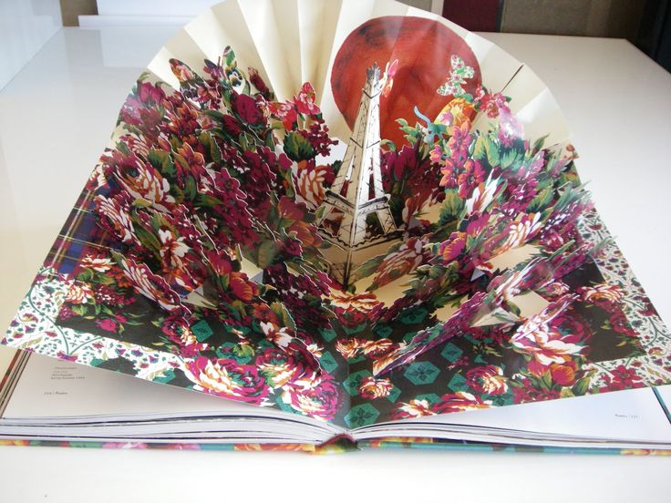 pop up book | The inspiration: Kenzo Pop up book | The Window Shopper