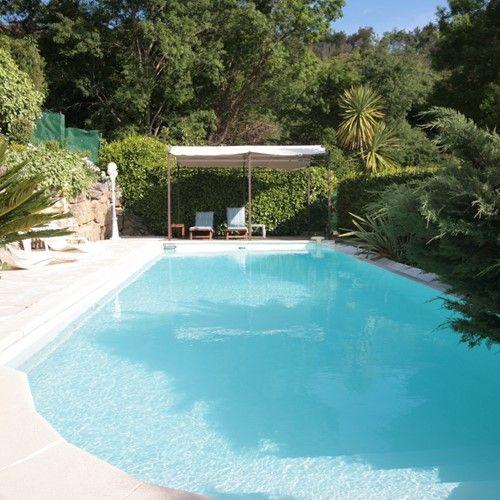 Maison Bleue Mandelieu Villa Rental Pool view
