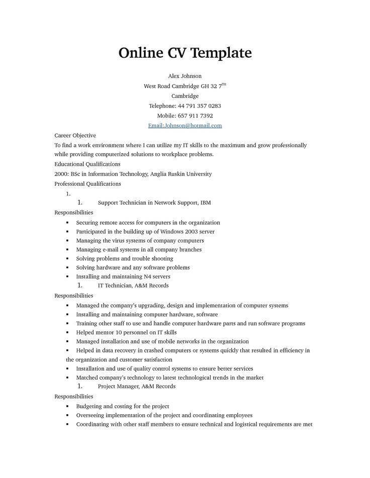 resume format online  resume format  online resume