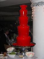 Def gonna have to break out my chocolate fountain. Use white chocolate dyed red to look like blood!