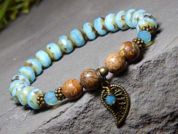 Sky Blue Bracelet Nature Bracelets