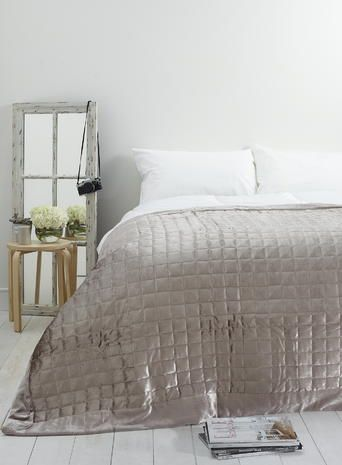 Holly Willoughby Quilted Square Throw