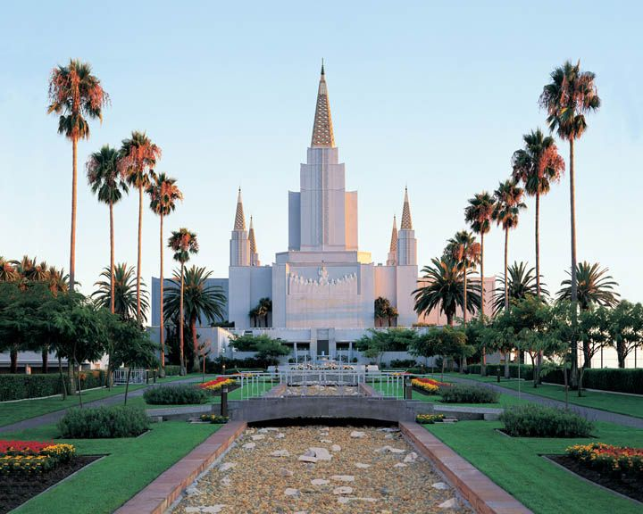 Mormon Temple - Oakland, Ca I walked here from the Fruitvale bart station alone at 14 years old. Hell of a walk. (I had no clue it was a Mormon temple lol).