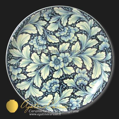 Oltre 25 fantastiche idee su piatti dipinti a mano su - Piatti di frutta decorati ...