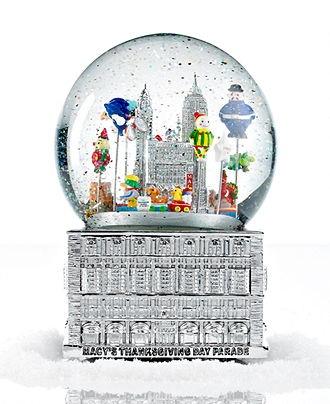 2012 Macy's Thanksgiving Day Parade Snow Globe - Holiday Lane