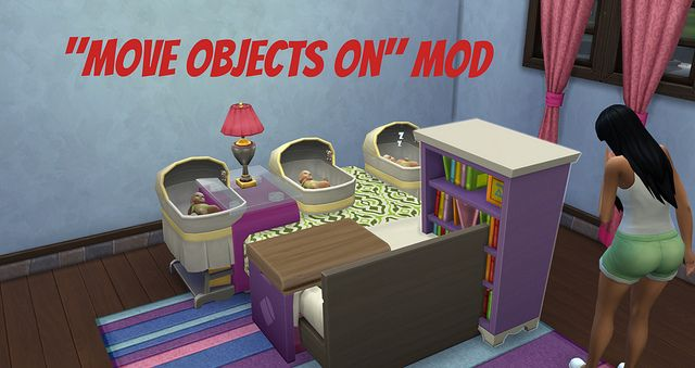 Move Objects On Mod by TwistedMexican at Sims Vip via Sims 4 Updates