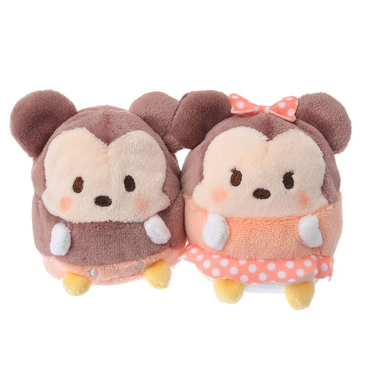 Small Mickey and Minnie Ufufy Pair