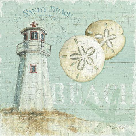 Beach House I Art Print