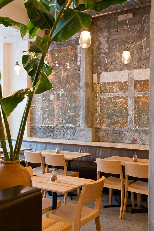 Thonet Planar Chairs Loretta Wellington NZ Bentwood ChairsCommercial InteriorsRestaurant DesignDesign Blogs HospitalityConcreteRestaurantsArchitectsEat