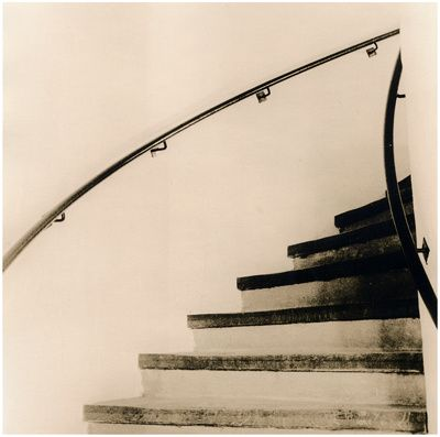 Stairs, Gifhorn Lith Print