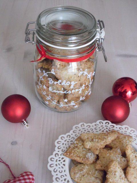 Karácsonyi diós keksz