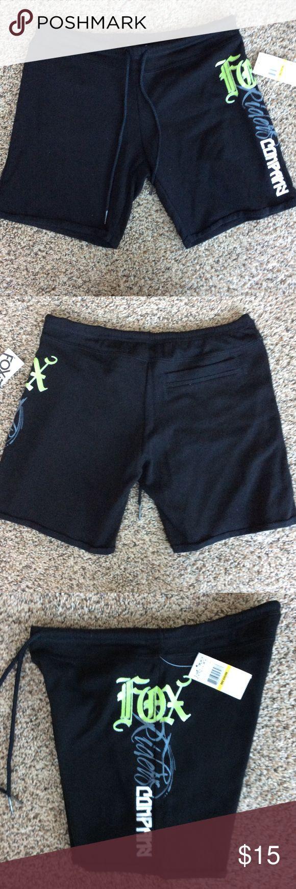 Fox Racing Shorts NWT.  60% cotton/40% polyester.  Drawstring waist. Shorts
