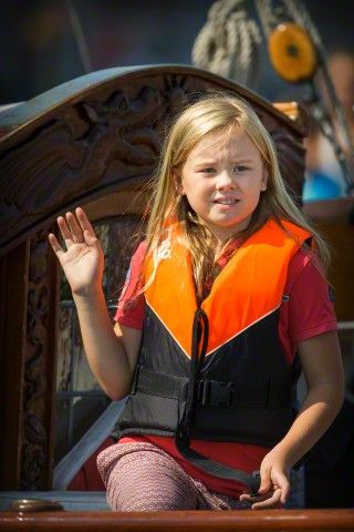 Royal Family Around the World: Dutch Royals attend Sail Amsterdam 2015 in Amsterdam, The Netherlands, 22 August 2015