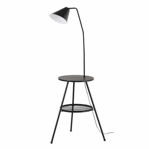 Accessories have a utility feel. This quirky table lamp doubles up as a handy side table. Clever! #IWANTTHATSTYLE