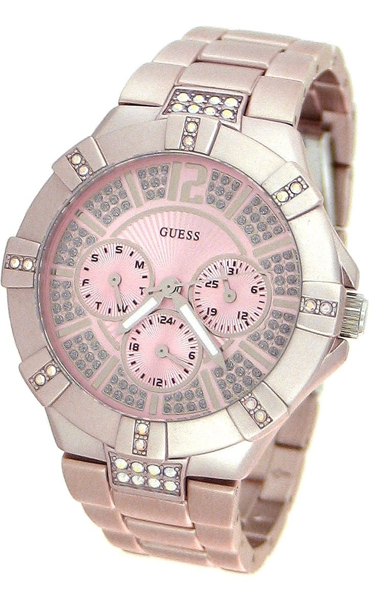 #Guess #Watch , Guess WaterPro Dazzling Sport Multifunction - Pink Women's watch #U12657L2
