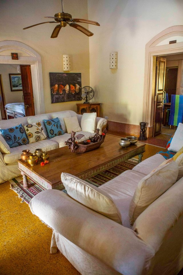 At Turiya Villa,Goa