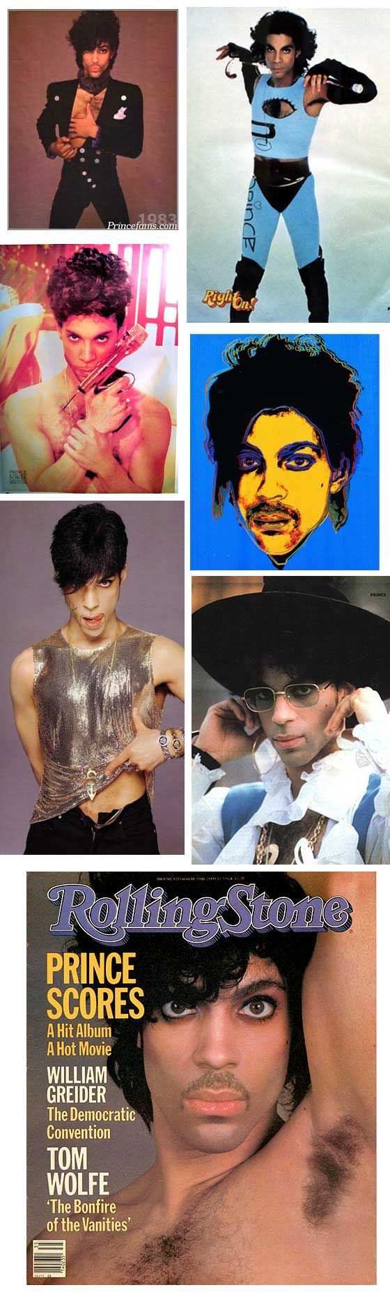 """A collage of """"Classic Prince"""" cooool! ;o)"""