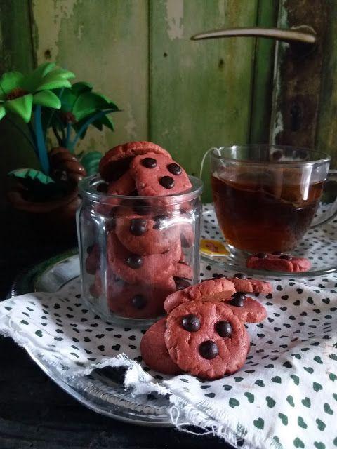 Dapur Miranti: RedVelvet Cookies