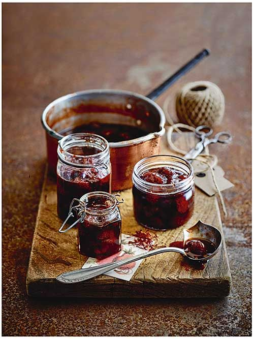 Strawberry And Saffron Jam Recipes Recipe on Yummly. @yummly #recipe