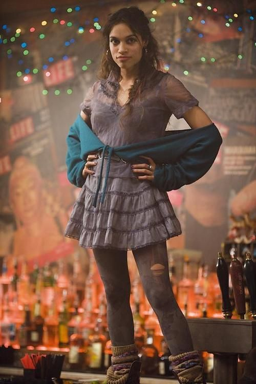 Rosario Dawson as Mimi Marquez - I forgot how badly I coveted this outfit back in the day