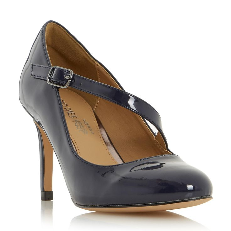 HEAD OVER HEELS ANITTA - Asymmetric Strap Court Shoe - navy | Dune Shoes Online