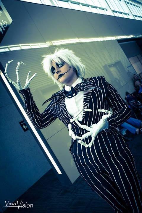 Jack skellington cosplay photo taken by the gorgeous Vicki Lau of Vivid vision