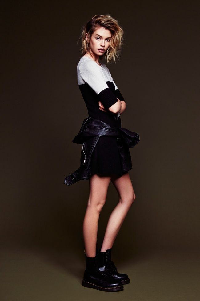 Stella Maxwell for Love Lemons' Pre-Fall Collection