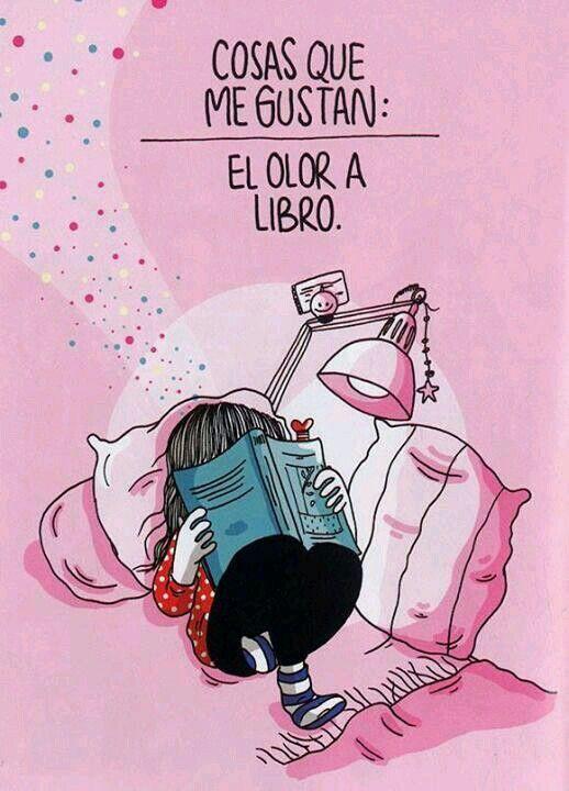Libros. .. libros... libros ... el olor a  ... ;-9                                                                                                                                                      Más