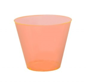 Posh Party Supplies is a wholesaler of discount disposable elegant plastic party plates and bowls as well as disposable dinnerware.China-like dishes great for weddings and elegant affairs.Our disposable baking pans may be ordered in bulk for extra discounts.Orange 9 oz. Old-Fashioned Tumblers - 500 Pieces per Case. $47.89
