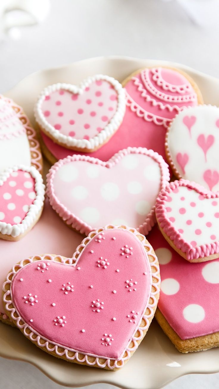 344 best heart shapes images of heart symbol and such art pink heart shaped cookies for valentines day corie the ones you made were oh sooooo yummy buycottarizona