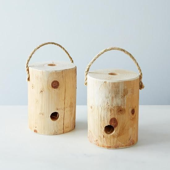 Portable Log Fire (Set of 2): Take your fire to go. #food52