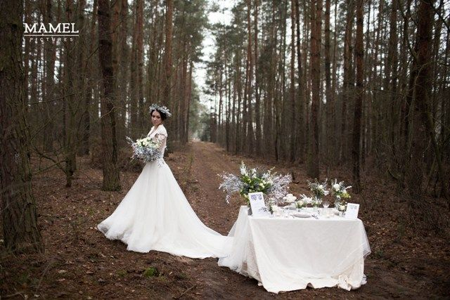 Carska zima - ślubna sesja zdjęciowa | Muscari