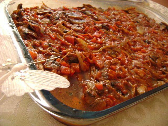 Ryba z warzywami, rybne leczo