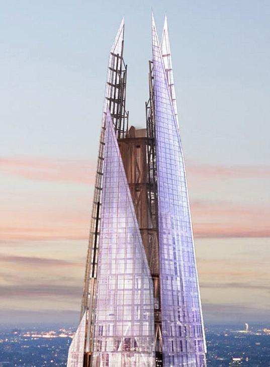 THE LONDON BRIDGE TOWER (AKA THE SHARD) • 2012 • London, England • Renzo Piano, www.rpbw.com/