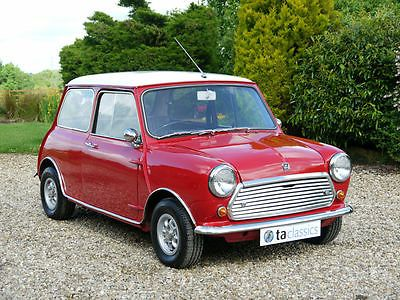 eBay: 1968 Morris Mini Cooper MK II. Stunning Nut & Bolt Restoration 1,000 Miles Ago.