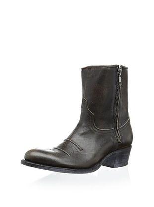 50% OFF Sendra Women's Debora Western Zip Bootie (Black)