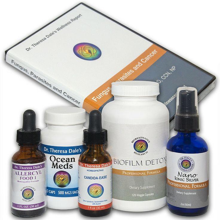 Candida, Fungus & Mold Detox Kit