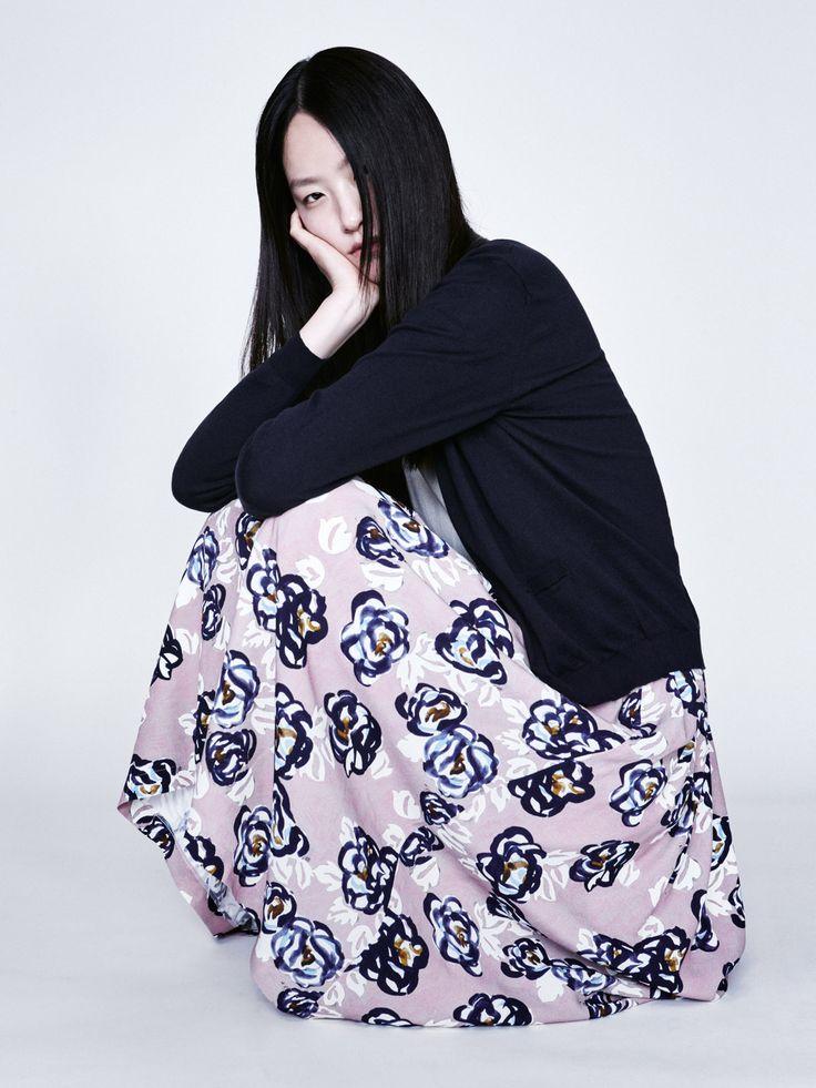 Juno Cardigan, Brita Sweater and Mabel Skirt | Samuji Resort 2016