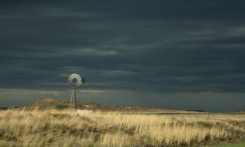 Thunder and wind - Colesberg, South Africa