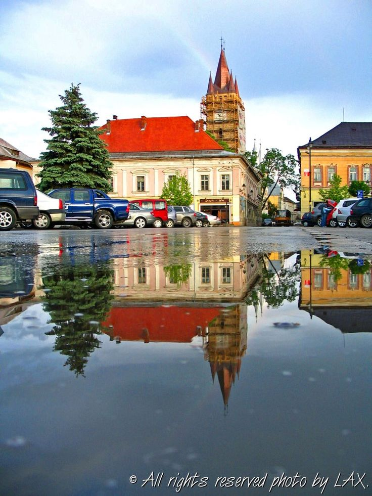 Millenium Squire View of the Tower of Stefan ~ Baia Mare, Romania