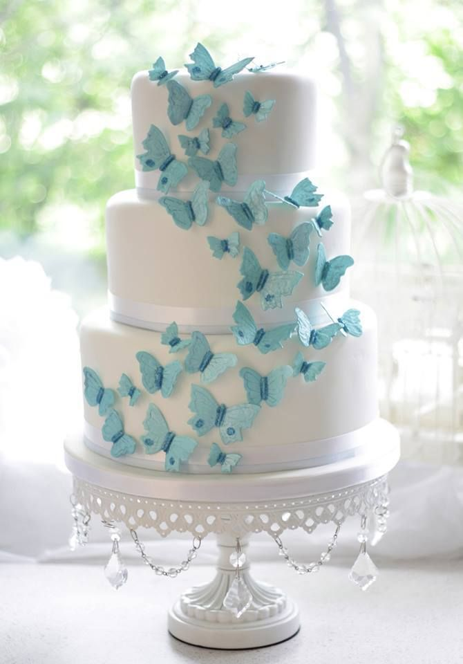 Want a Butterfly Wedding? Here Are Some Ideas |Butterfly Wedding Theme | Team Wedding Blog #weddingcake #teamwedding