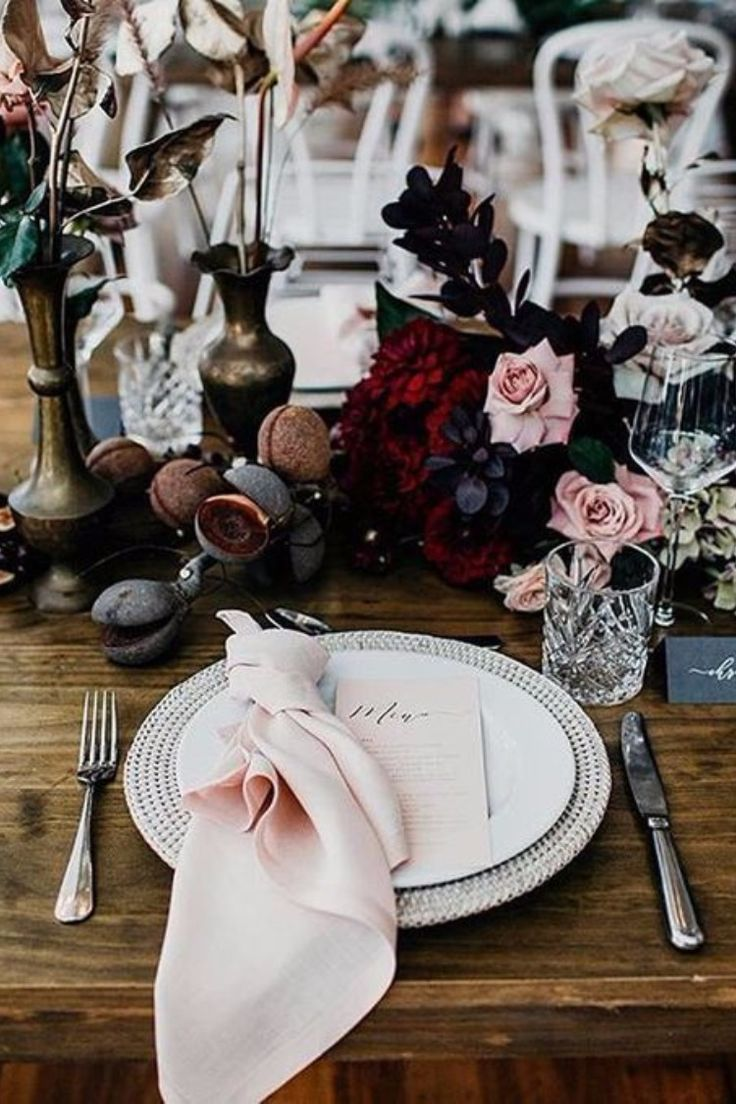 Top 6 Dusty Rose Wedding Color Palette Inspiration