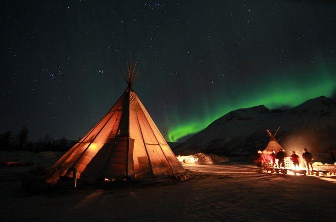 Excursão das Luzes do Norte na Lapônia saindo de Tromso #Noruega #viatorbr #melhorestours