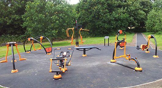 Outdoor Gym Equipment in Birmingham