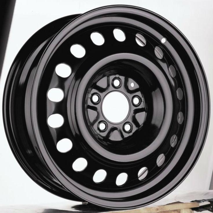 Black Steel Wheels 17